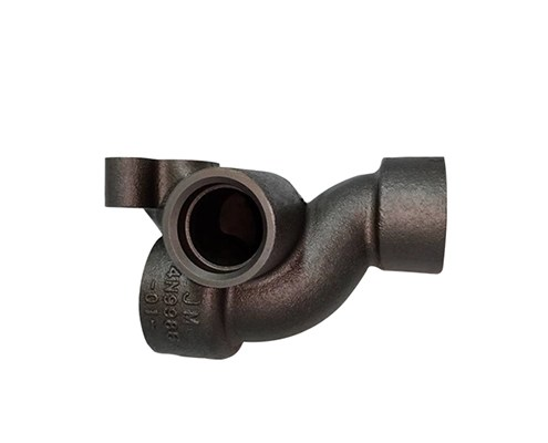 cast iron elbow connection