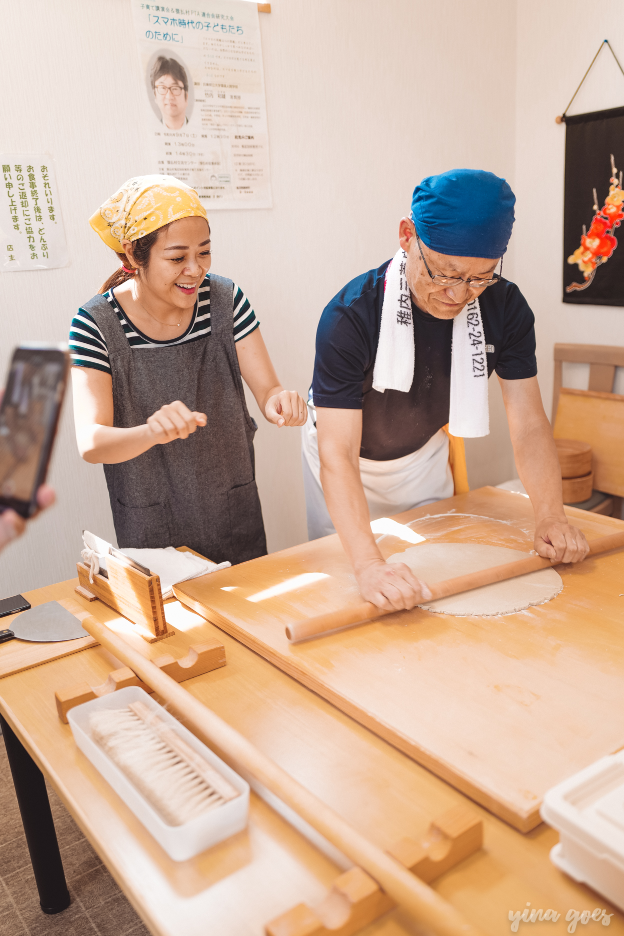 Soba-making experience in Wakkanai