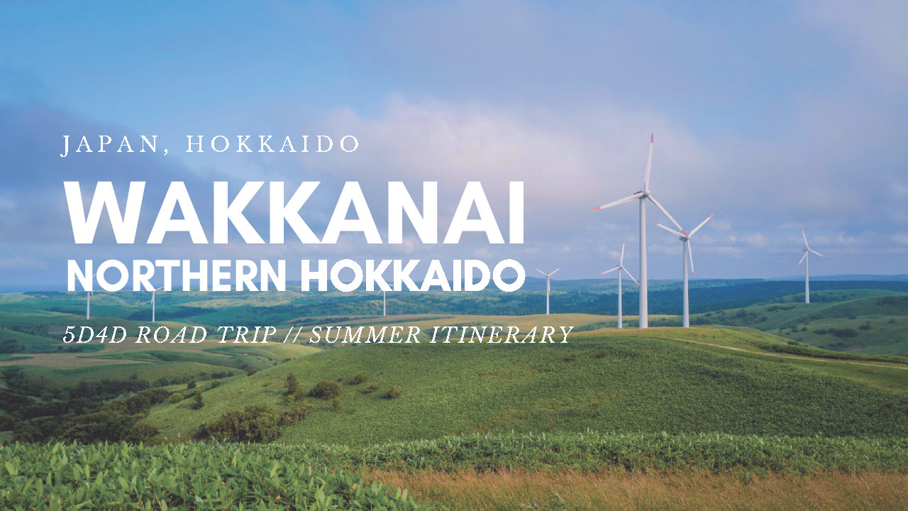 Soya Hills, Wakkanai, Northern Hokkaido