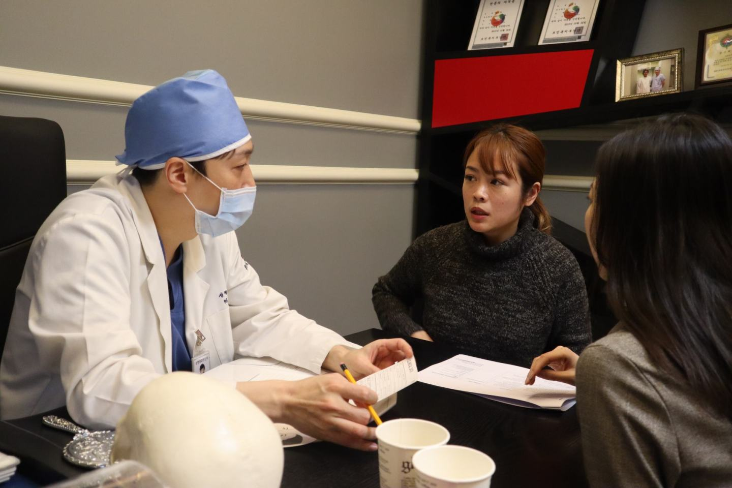 At Ruby Plastic Surgery Clinic in Seoul, South Korea
