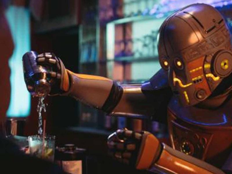 A Robot Walks Into a Bar (Futurestates)