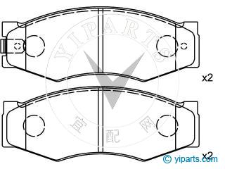Supply Brake Pad Set(41060-03R85) for INFINITI, NISSAN