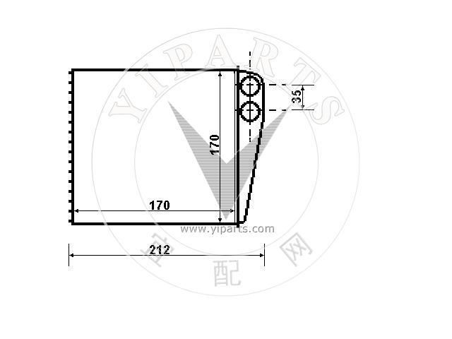 Supply Теплообменник, отопление салона(27140-AX700) for