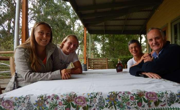 Housesitters meeting Andre and Kadri