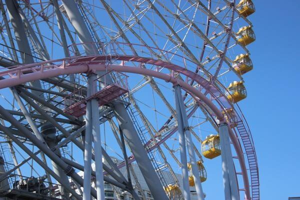 Giant Ferris Wheel Yokohame