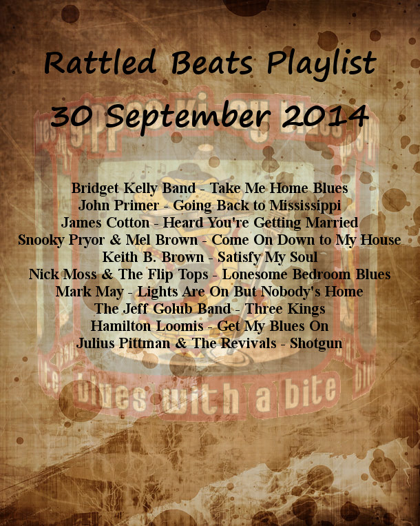 Rattled Beats Show Playlist