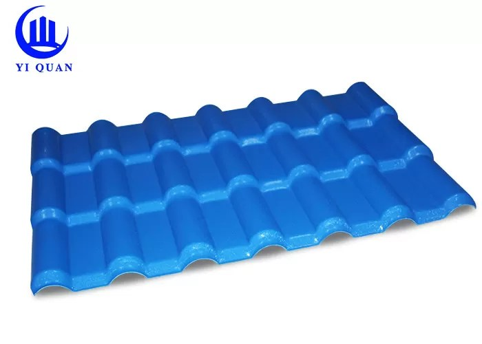 excellent anti loading performance synthetic resin roof tile self cleaning insulation to save energy