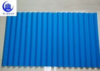 Plastics Warehouse PVC Roof Tile Building Material Wall Panel