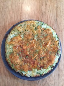 Broccoli frittata - gezonde broccolitaart