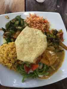 Rijst & curry - Sri Lanka