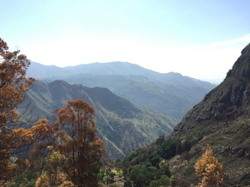 Sri lanka - uitzicht Ella Rock