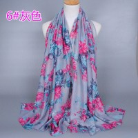 Silk floral fabric scarves china Scarf