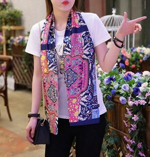 Small silk scarf neck china Scarf