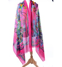 japanese silk scarf for women silk scarf for painting ...