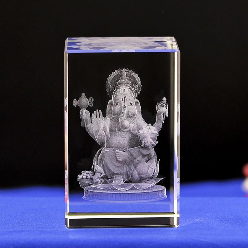 china 3d engraved crystal