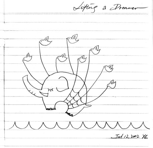 Lifting A Dreamer (aka. Twitter Fail Whale) @ Yiying Lu