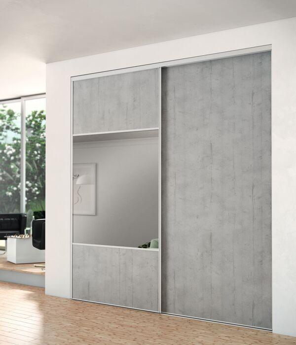 portes de placard standard recoupable a