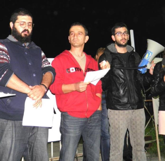 Vicdani retçi Haluk Selam Tufanlı için cezaevi önünde eylem