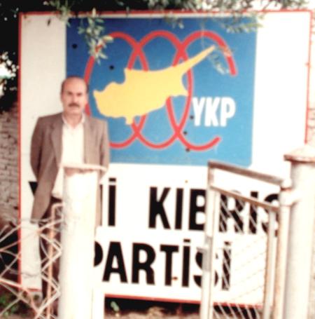 Yeni Kıbrıs Partisi kurşunlandı