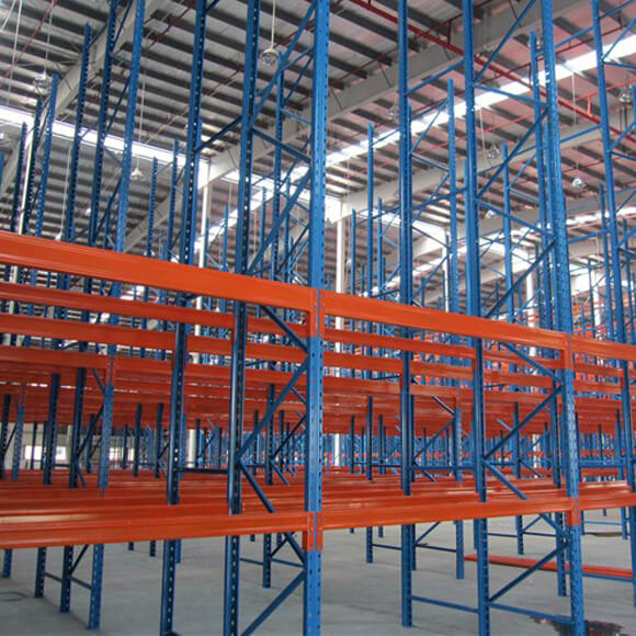 China Heavy Duty Warehouse Steel Selective Pallet Racking