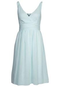 robe bleue vero moda