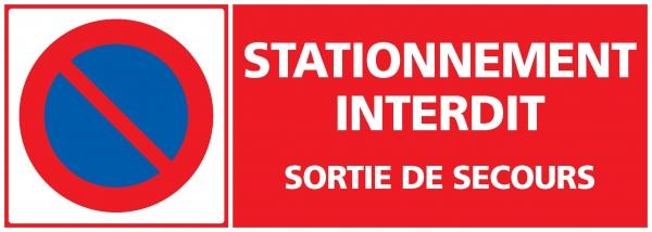Panneau Stationnement Interdit Indiquant L Interdiction De Stationner