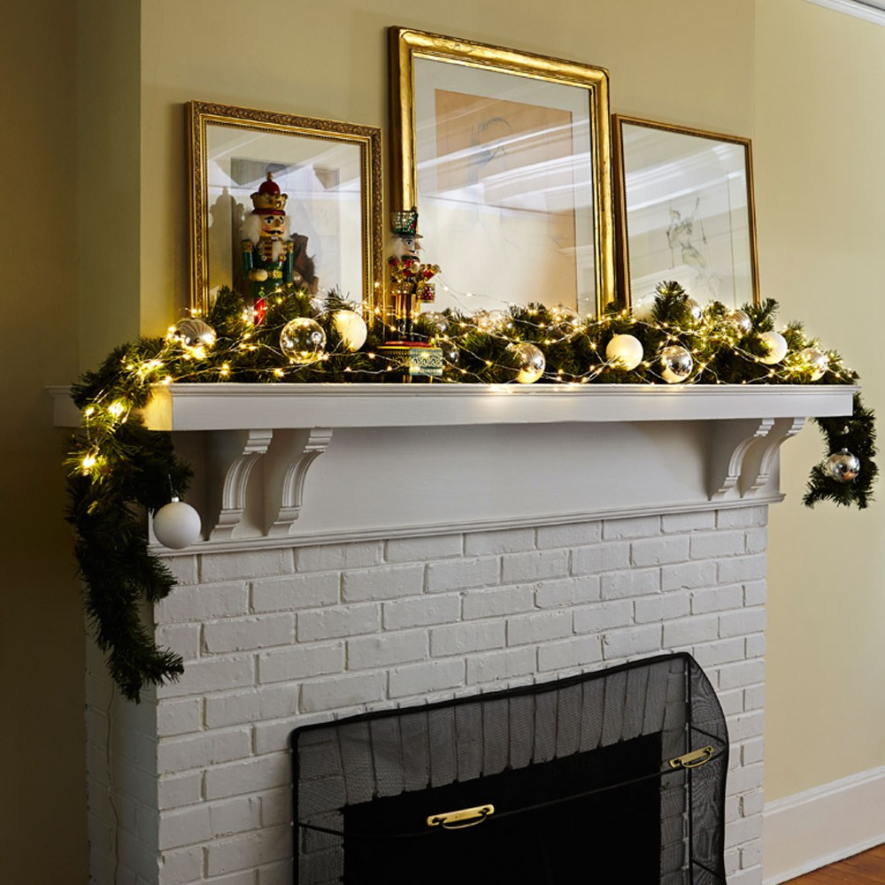 Battery Operated Mantel Lights