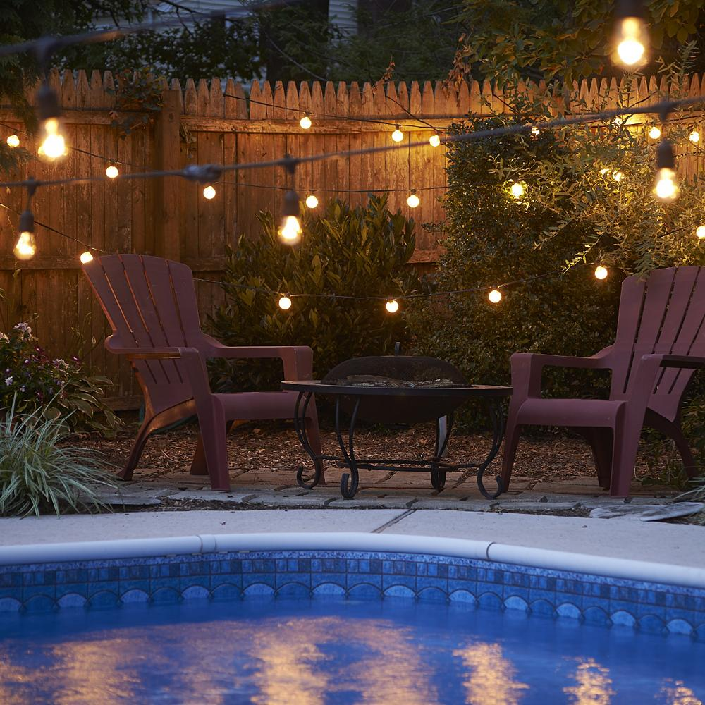 11 Outdoor String Lighting Ideas For A Modern Backyard Ylighting Ideas
