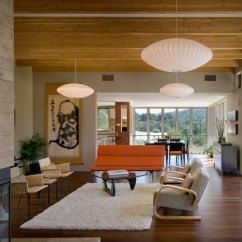 Mid Century Modern Living Room Lighting Elliot Fabric Sectional Furniture Collection Ylighting