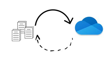Comment modifier le débit montant ou descendant de la synchro OneDrive
