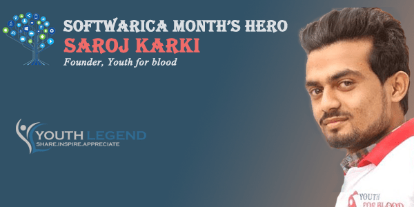 Saroj Karki- Founder, Youth for Blood, Nepalese Youth, Months Hero