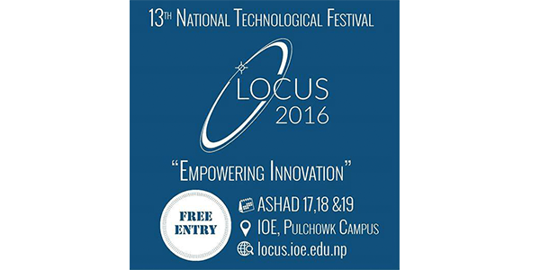 Locus 13th National Technological Festival