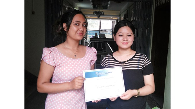 Neera Gurung, Runner Up of Wordism Competition for the Month of Shrawan
