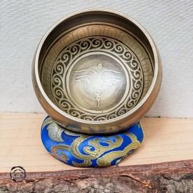 Taça Tibetana nova Olhos de Buda