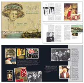"""Maquetación de """"Agatha Christie en Canarias"""" de Nicolás González Lemus"""