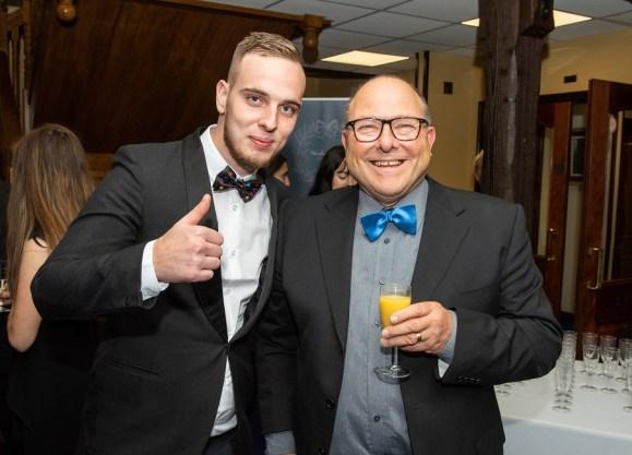 YMCA Charity Black tie Gala, Woodbury Park.  Jonathon Taylor & Paul Cloke