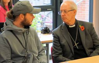 Archbishop hears story of reconciliation at YMCA Norfolk