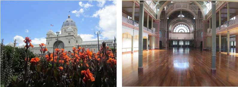 Royal Exhibition Building in Melbourne - Henny Jensen