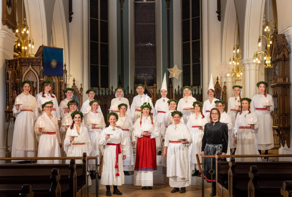 Lucia Hagakyrkan 2019, foto: Hendrik Zeitler