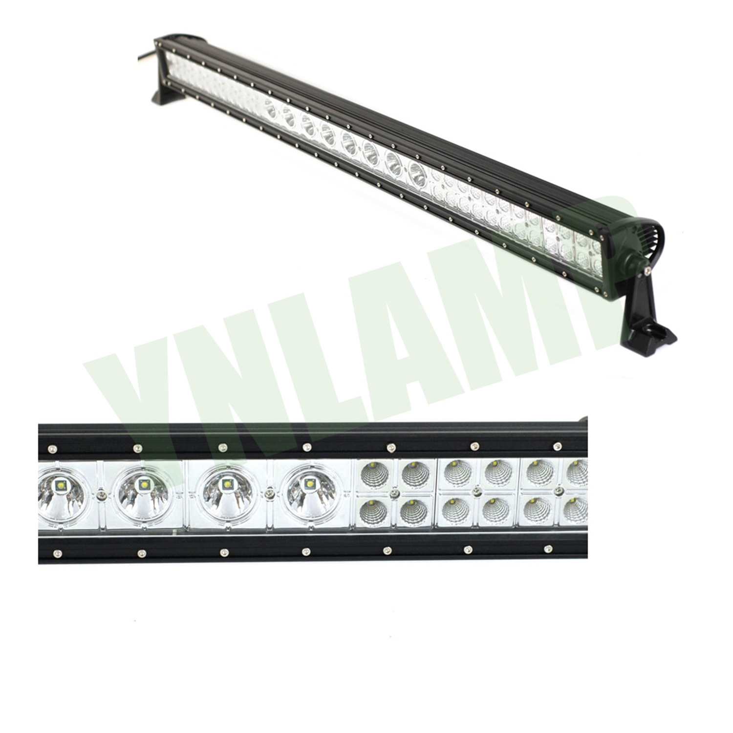 41inch 224w Led Mixed Row Straight Offroad Bar Combo