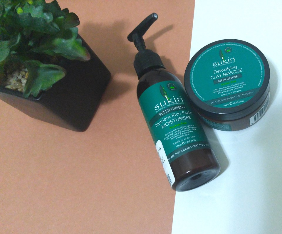 sukin skincare review