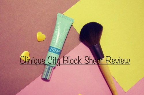 clinique city block sheer review