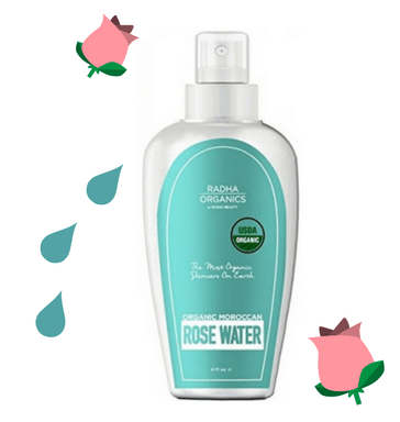 Radha Organic Rose Water