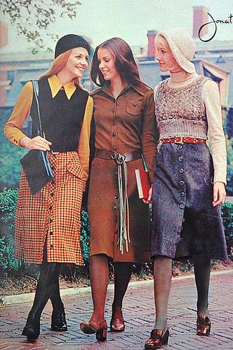 Preppy Retro look