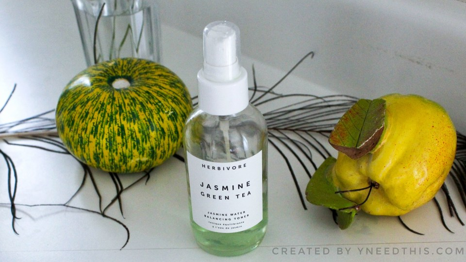 Herbivore Jasmine Green Tea Toner Review