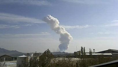 iran missile base sabotage blast