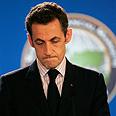 Oops. Sarkozy Photo: AP