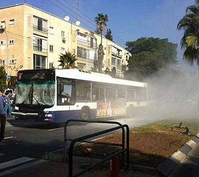 Bus bomb in Tel Aviv