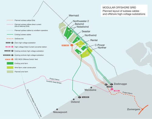 small resolution of dredging international part of the deme group has secured the contract from belgian transmission system operator elia for the submarine power cable