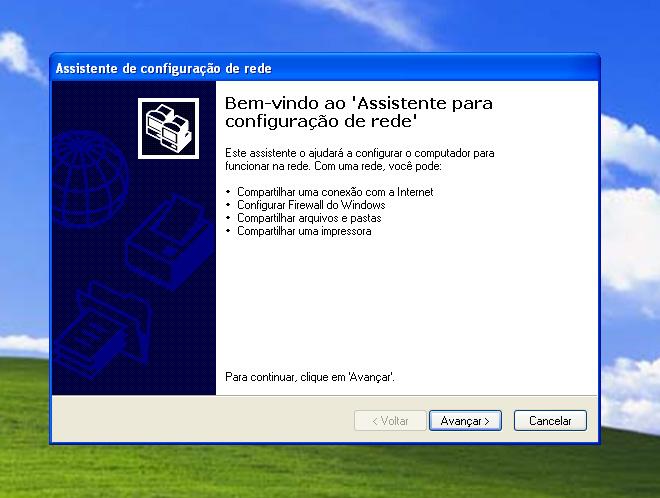 assistente de configuração